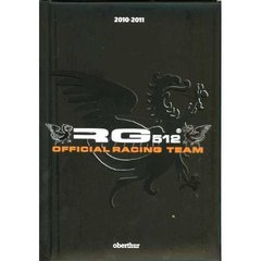 Agenda RG 512 Official racing team 2010/2011, 12x17cm