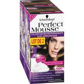 Coloration Perfect Mousse permanente 600 chatain clair