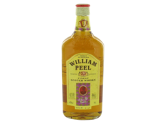 Scotch whisky William Peel 40° bouteille 70cl + ric 0,40euros