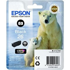 CARTOUCHE EPSON T2611 PHOTO OURS POLAIRE