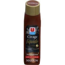 Cirage marron avec applicateur U, 75ml