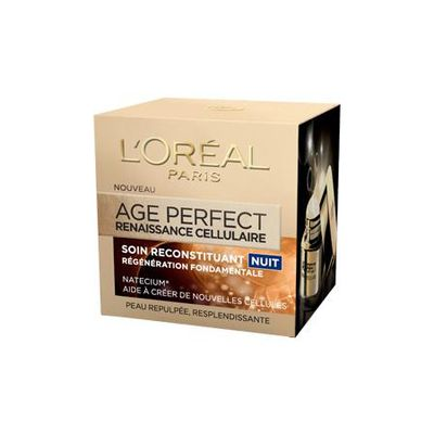 L'oreal paris, Creme age perfect renaissance cellulaire nuit, le pot de 50 ml