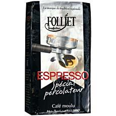 Cafe Expresso special percolateur FOLLIET, 250g