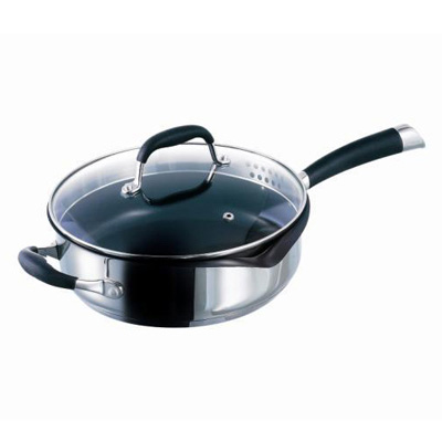 Sauteuse Solano induction 24cm inox