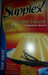 Flan vanille non sucré SUPPLEX, 60g