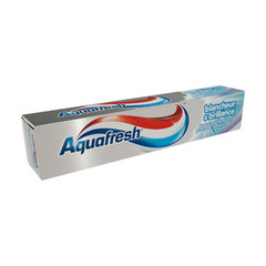 Aquafresh dentifrice blancheur et brillance 75ml