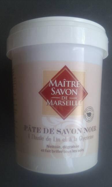 pate de savon noir a l 39 huile de lin maitre savon de marseille 1kg tous les produits entretien. Black Bedroom Furniture Sets. Home Design Ideas