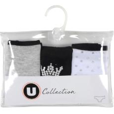 3 Slips U COLLECTION, assortis, taille 14A
