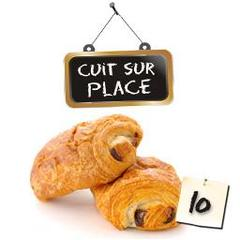 Cuit sur place, Pains au chocolat, les 10 pieces de 600 gr