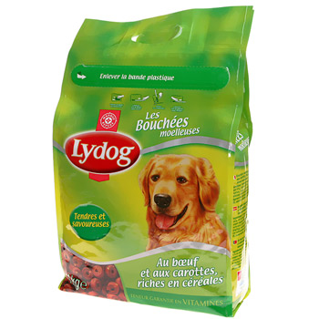 Bouchees chiens Lydog Moelleuses 4kg
