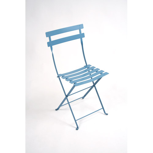Chaise Bistro Metal turquoise