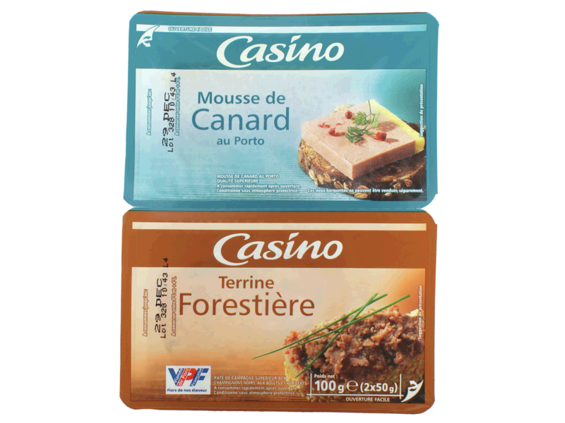 Duo Mousse de Canard et Terrine Forestiere