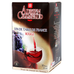 Vin rouge Adrien Champaud De table 12%vol 10l