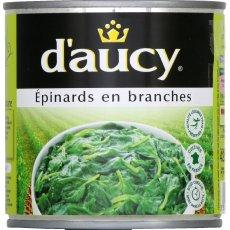 Daucy epinards en branches 265g