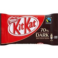 Nestle Fairtrade Kit Kat 4 Finger Bar - 70% Dark (45g)
