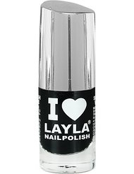 Layla Cosmetics Milano I Love Layla Vernis à Ongles Blacky 5 ml