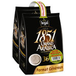 Legal 1851 grand arabica dosette x72 -500g
