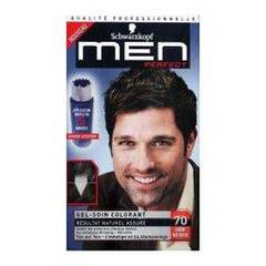 Coloration creme permanente MEN PERFECT, chatain fonce n°70