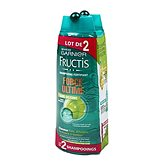 Fructis shampooing volume cheveux fins 2X250ml