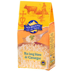 Riz blanc long de Camargue Nos Regions ont du Talent 500g