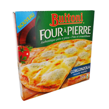Buitoni Pizza Gorgonzola four a pierre 350g