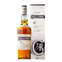 Cragganmore whisky 12ans 70cl 40%vol + etui standard