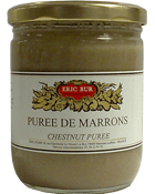 ERIC BUR Purée de Marrons 410 g - Lot de 2