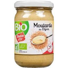 Bouton d'Or, Moutarde de Dijon BIO, le pot de 200 g