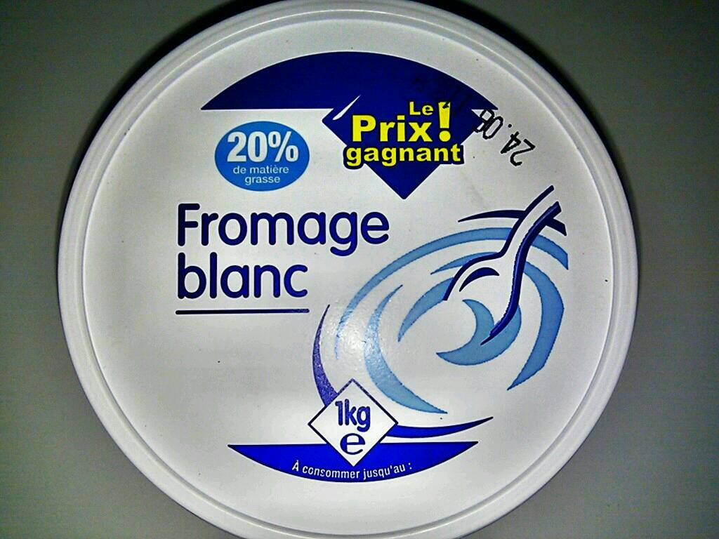 Fromage blanc, 1kg