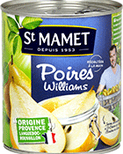 Poires Williams St Mamet