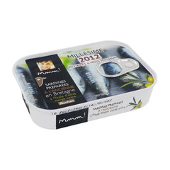 sardines a l'ancienne a l'huile d'olive auchan mmm! 115g