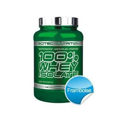 100% WHEY ISOLATE 700 gr Scitec Nutrition - Framboise