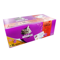 Whiskas selection gourmande viande 24x100g