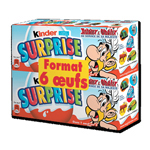 Oeufs Kinder surprise x6 2x60g