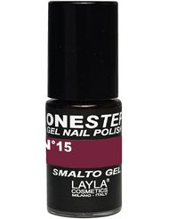 Layla Cosmetics Milano Vernis à Ongles One Step Gel Blueberry 5 ml