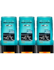 L'OREAL : Men Expert Cool Power - Shampooing douche homme Cryo-Caps