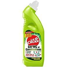 Gel nettoyant wc et entretient des canalisations la croix - Detartrage wc tres entartre ...