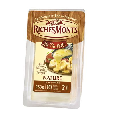 RICHES MONTS : Fromage à Raclette Nature
