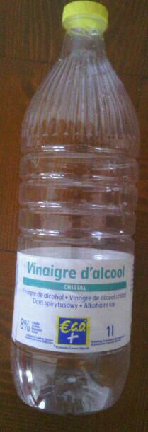 Vinaigre eco alcool cristal 1l tous les produits vinaigres vinaigrettes prixing - Vinaigre blanc vinaigre d alcool ...