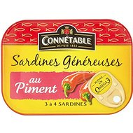 CONNA © Les Sardines de table à Chilli Sauce (140g) - Paquet de 2