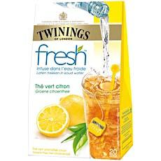 Twinings 20 sachets the fresh vert citron 40g