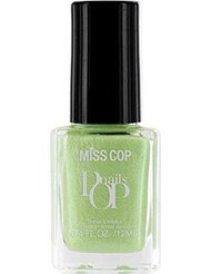 Miss Cop Vernis à Ongles Pop Nails Acquaverde 12 ml - Lot de 2
