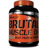 Brutal Muscle On Beef Protein - 2270 g - Myrtille Yaourt - Biotech