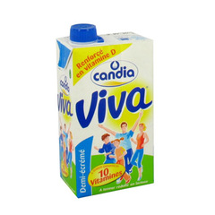 Lait source de 10 vitamines renforcé en vitamine D - Viva