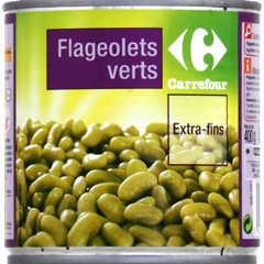 Flageolets verts extra-fins