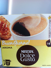 Cafe dosettes Dolce Gusto Aroma 128g