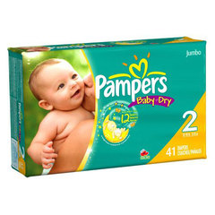 Couches Pampers Baby Dry T2 x41