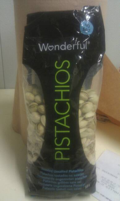 Pistaches grillees non salees 500 g