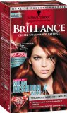 Coloration creme permanente BRILLANCE, milan fw rouge cuivre n°843