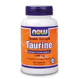 Taurine, Double Strength, 1000 mg, 100 Capsules